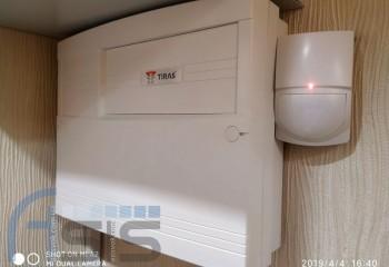 Встановлення охоронної сигналізації для дому